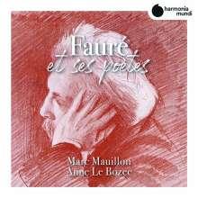 """Gabriel Faure (1845-1924): Lieder - """"Faure et ses Poetes"""", CD"""
