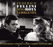 Filmmusik: Federico Fellini / Nino Rota, 2 CDs