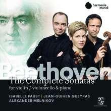 Ludwig van Beethoven (1770-1827): Violinsonaten Nr.1-10, 6 CDs