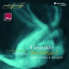 Carlo Gesualdo von Venosa (1566-1613): Madrigali a cinque voci Libri III & IV, 2 CDs