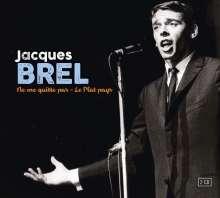 Jacques Brel (1929-1978): Ne Me Quitte Pas / Le Plat Pays, 2 CDs