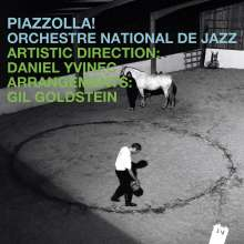 Orchestre National De Jazz: Piazzolla!, CD