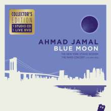 Ahmad Jamal (geb. 1930): Blue Moon: The New York Studio Session (Collector's Edition), 1 CD und 1 DVD