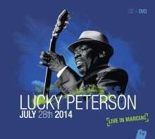 Lucky Peterson: Live In Marciac 2014 (CD + DVD), 1 CD und 1 DVD