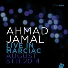 Ahmad Jamal (geb. 1930): Live In Marciac 2014 (CD + DVD), 1 CD und 1 DVD