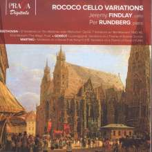 Jeremy Findlay - Rococo Cello Variations, Super Audio CD