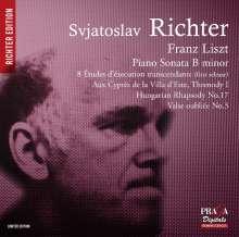 Franz Liszt (1811-1886): Klaviersonate h-moll, Super Audio CD