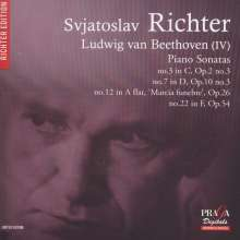Ludwig van Beethoven (1770-1827): Klaviersonaten Nr.3,7,12,22, Super Audio CD