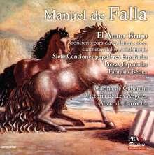 Manuel de Falla (1876-1946): El Amor Brujo, Super Audio CD