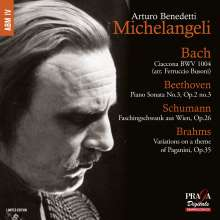 Arturo Benedetti Michelangeli, Klavier, Super Audio CD