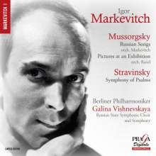 Igor Markevitch dirigiert, Super Audio CD
