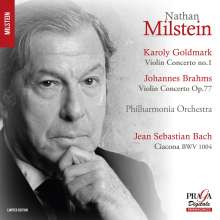 Nathan Milstein spielt Violinkonzerte, Super Audio CD