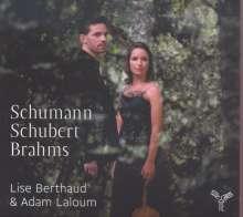 Lise Berthaud & Adam Laloum - Schumann / Schubert / Brahms, CD