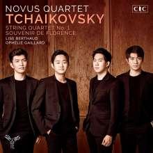Peter Iljitsch Tschaikowsky (1840-1893): Streichquartett Nr.1, CD