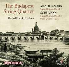 Robert Schumann (1810-1856): Streichquartett Nr.1, CD