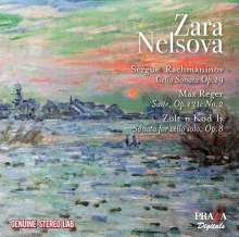 Zara Nelsova - Rachmaninoff / Reger / Kodaly, CD