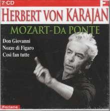 "Wolfgang Amadeus Mozart (1756-1791): Die ""Da Ponte-Opern"", 7 CDs"