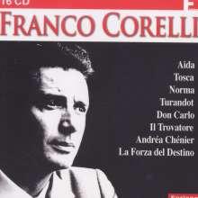 Franco Corelli - 8 Operngesamtaufnahmen, 16 CDs