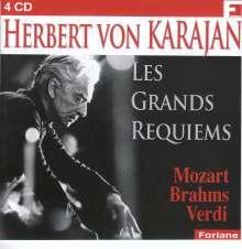 Herbert von Karajan - Les Grands Requiems, 4 CDs