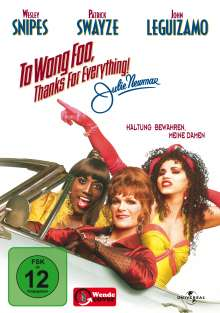 To Wong Foo - Thanks For Everything!, DVD