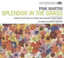Pink Martini: Splendor In The Grass (CD+DVD), 1 CD und 1 DVD