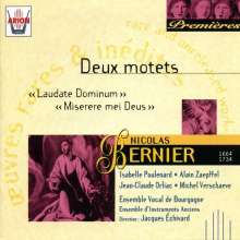 Nicolas Bernier (1664-1734): Motetten, CD
