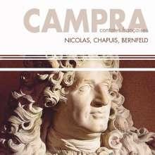 Andre Campra (1660-1744): Französische Kantaten, CD