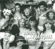 Auric...Francaix - Musique de Chambre, CD