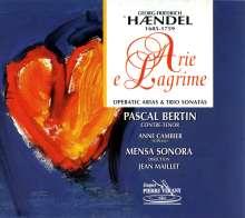 "Georg Friedrich Händel (1685-1759): Arien & Triosonaten ""Arie e Lagrime"", CD"