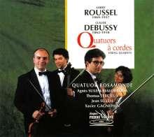 Albert Roussel (1869-1937): Streichquartett D-Dur op.45, CD