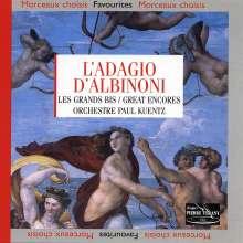 L'Adagio d'Albinoni, CD