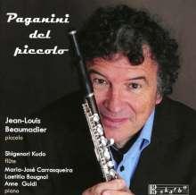 Jean-Louis Beaumadier - Paganini del piccolo, CD
