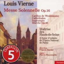 Louis Vierne (1870-1937): Messe solennelle f.2 Orgeln & Chor op.16, CD