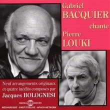 Gabriel Bacquier: Chante pierre louki, CD