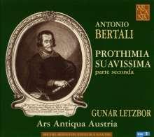 Antonio Bertali (1605-1669): Prothimia Suavissima Parte Seconda, CD