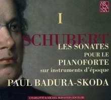 Franz Schubert (1797-1828): Klaviersonaten Vol.1, 3 CDs