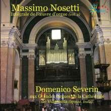Massimo Nosetti (1960-2013): Orgelwerke, CD