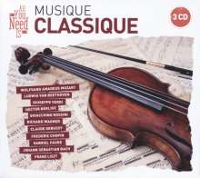 All You Need Is: Musique Classique, 3 CDs