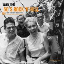Wanted 50's Rock'n'Roll - From Diggers To Music Lovers (180g), LP