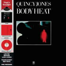 Quincy Jones (geb. 1933): Body Heat (Limited-Edition) (Translucent Red Vinyl), LP