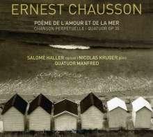 Ernest Chausson (1855-1899): Poeme de l'amour et de la mer op.19, CD