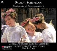 Robert Schumann (1810-1856): Klavierwerke & klavierbegleitete Kammermusik Vol.10, CD
