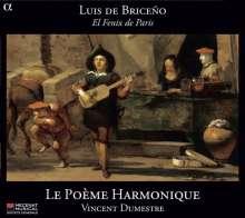 Luis de Briceno (fl. 1610-1630): El Fenix de Paris - Vokal- & Instrumentalmusik, CD