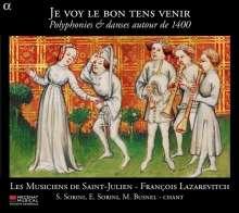 Le Voy Le Bon Tens Venir, CD