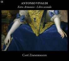 """Antonio Vivaldi (1678-1741): Concerti op.3 Nr.7-12 """"L'estro Armonico"""", CD"""