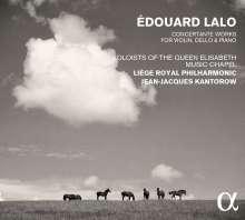 Edouard Lalo (1823-1892): Instrumentalkonzerte, 3 CDs