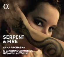 Anna Prohaska - Serpent and Fire (Arias for Dido & Cleopatra), CD