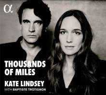 Kate Lindsey - Thousands of Miles, CD