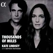 Kate Lindsey - Thousand of Miles (180g), LP
