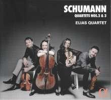 Robert Schumann (1810-1856): Streichquartette Nr.2 & 3, CD